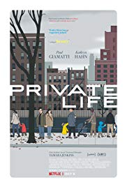 Private Life 2018 online subtitrat